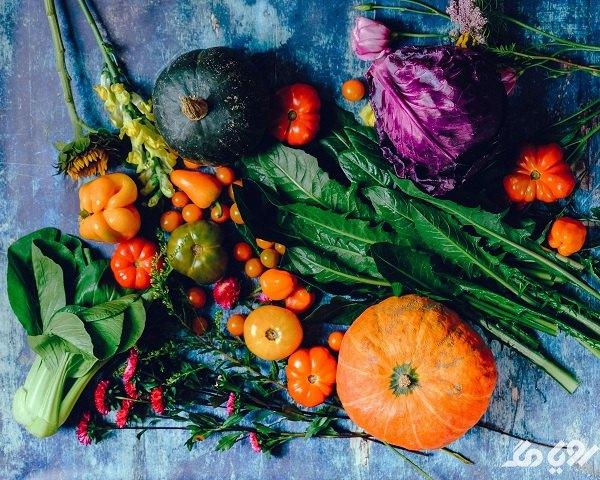 استفاده از سبزیجات و خواص آنها