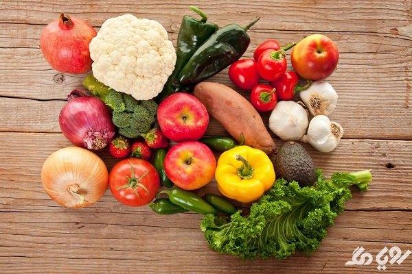خواص میوه و سبزیجات برای دندان