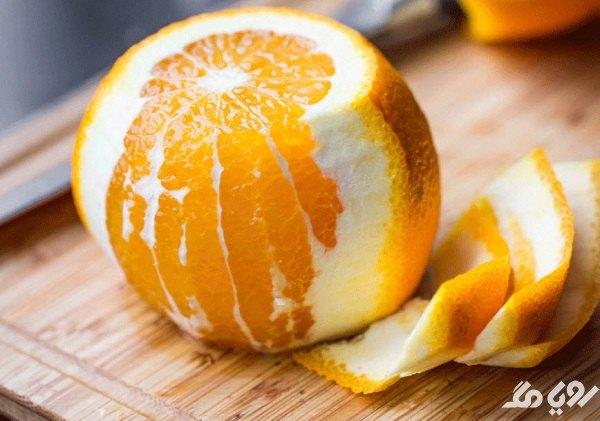 درمان تیره شدن کشاله ران با پوست پرتقال