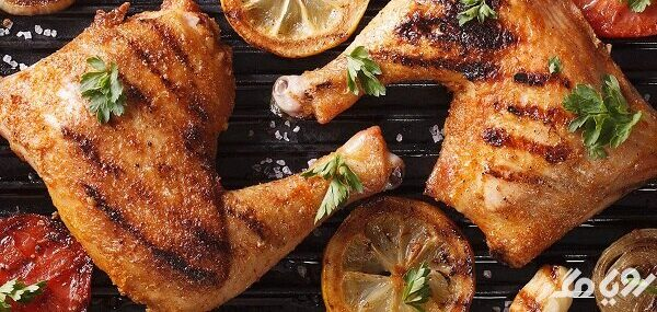 استفاده از ران مرغ برای چاقی