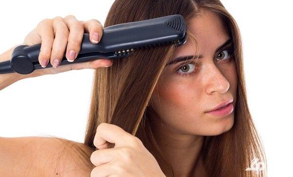 تاثیر اتو مو بر ریزش مو