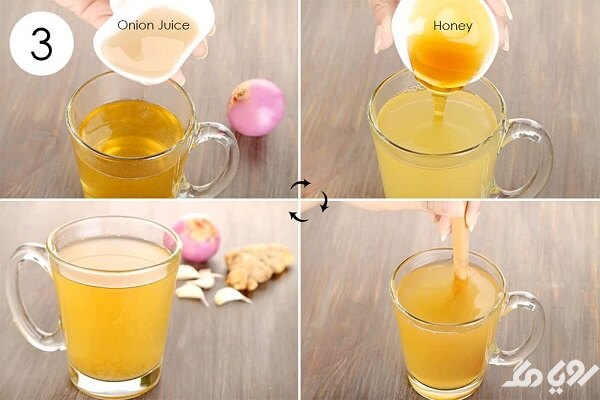 ماسک آب پیاز و عسل