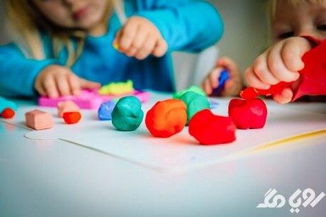 ساخت خمیر بازی خانگی